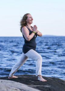 Yogalærer og fotograf